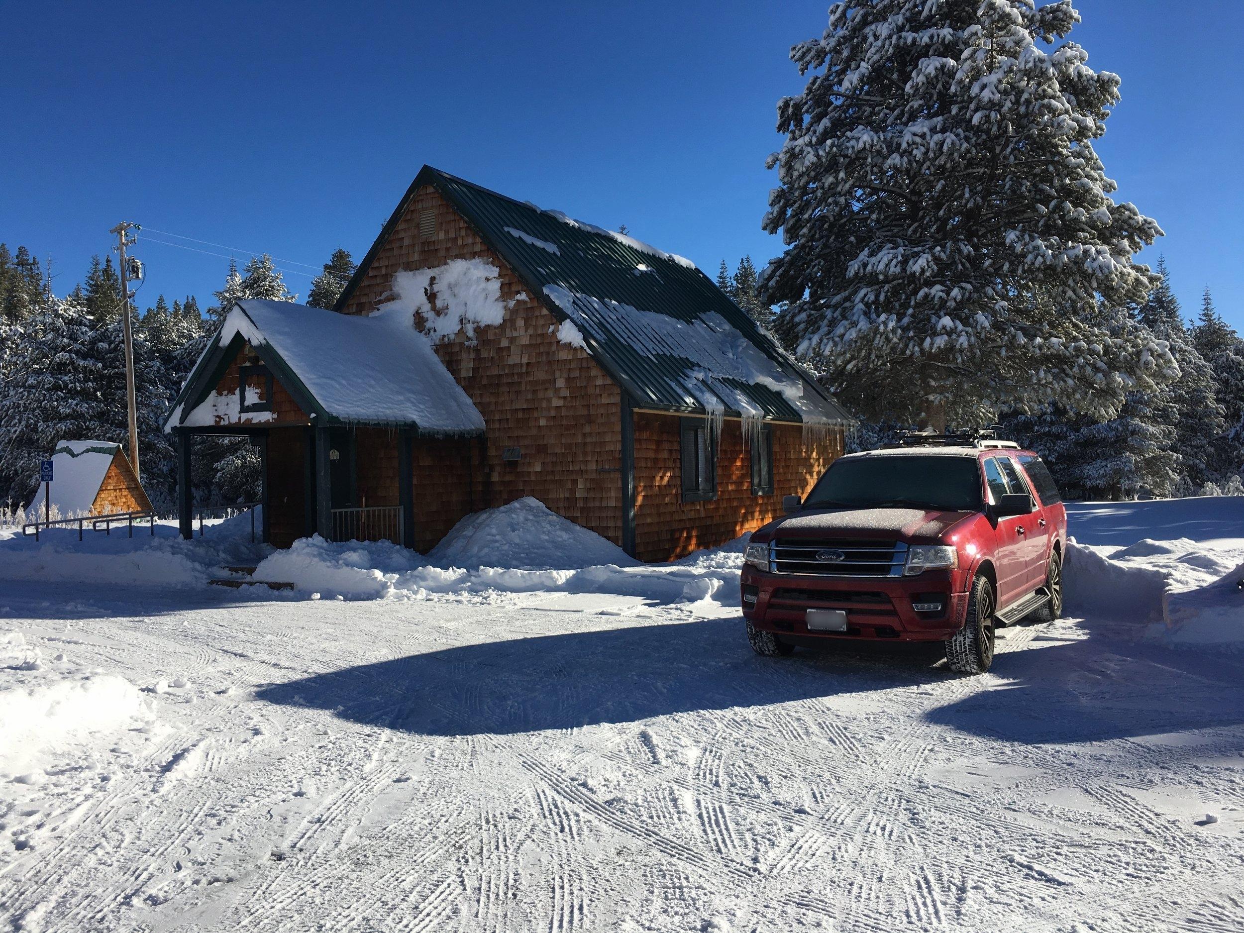 Tamarack Lodge Back Chalet