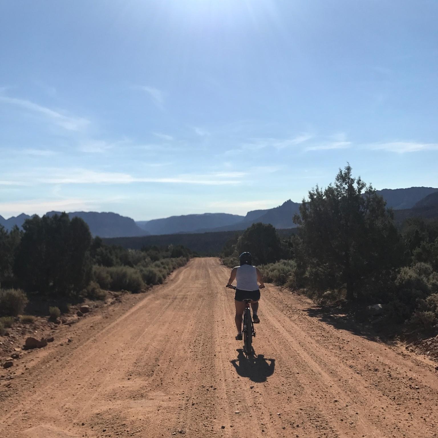 Chasqui Mom riding