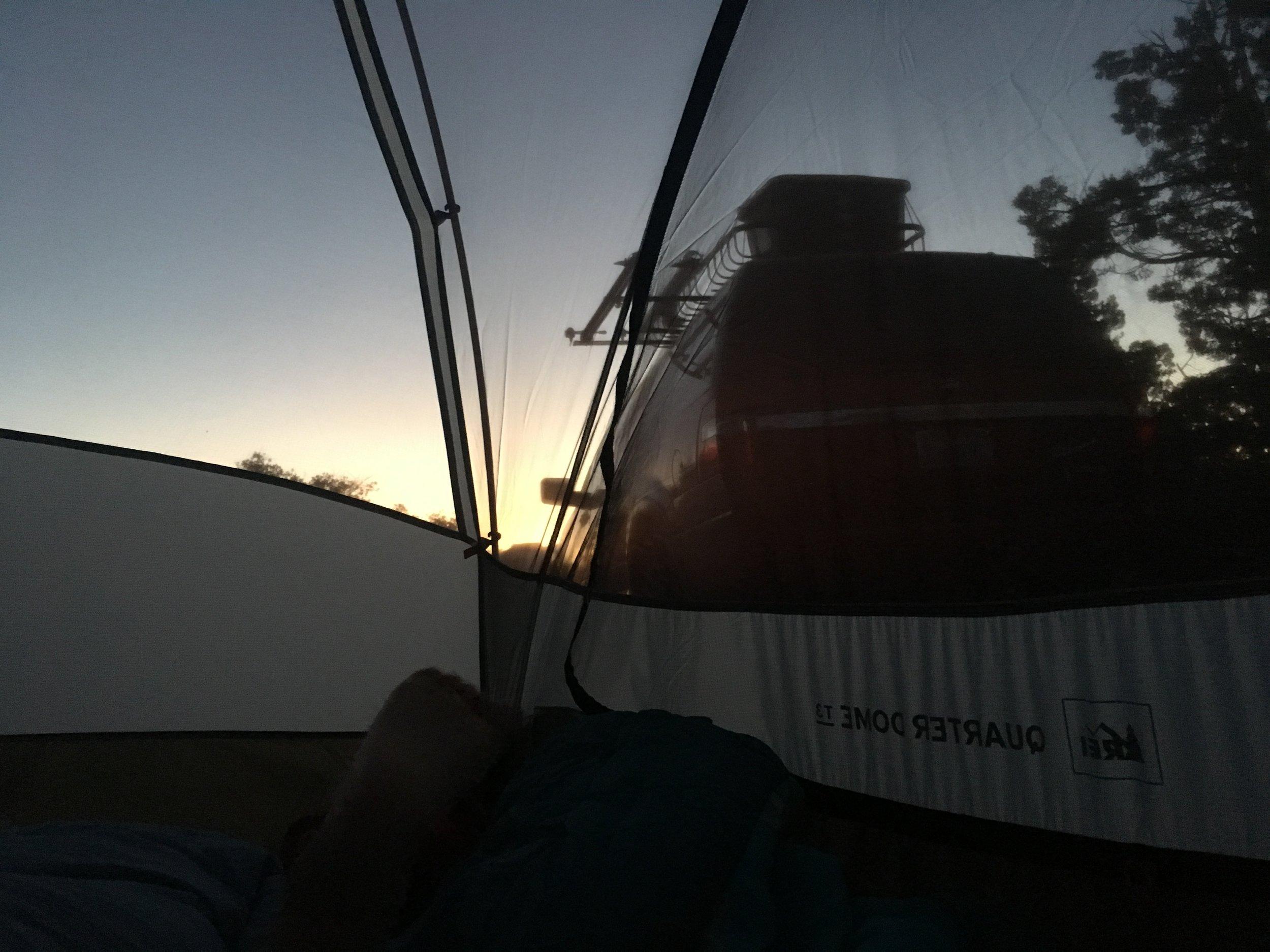 Gooseberry Mesa Sunrise
