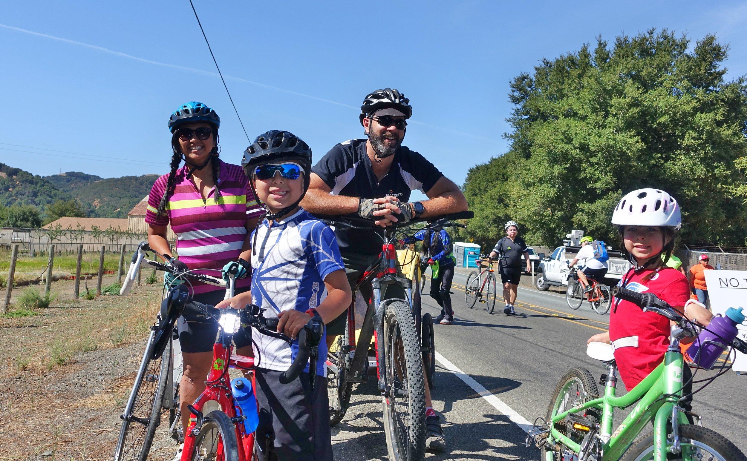 My biking family!