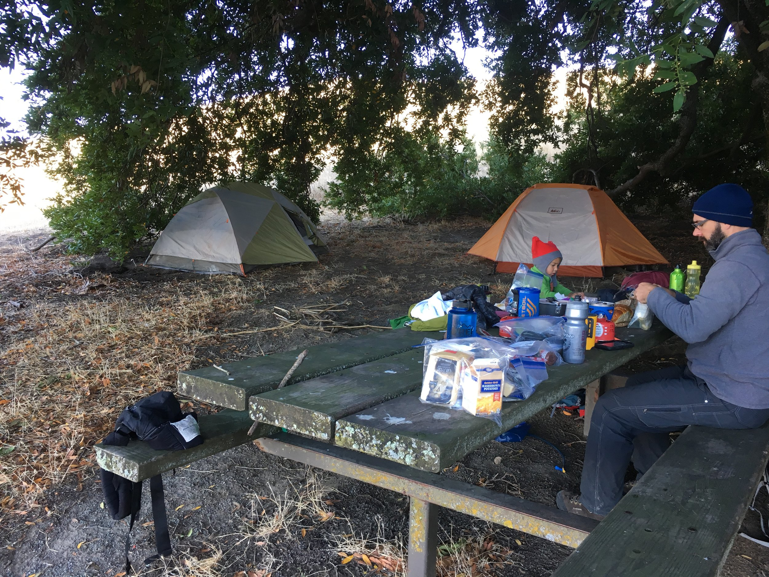 Campsite #4: Eagle Spring, Mission Peak