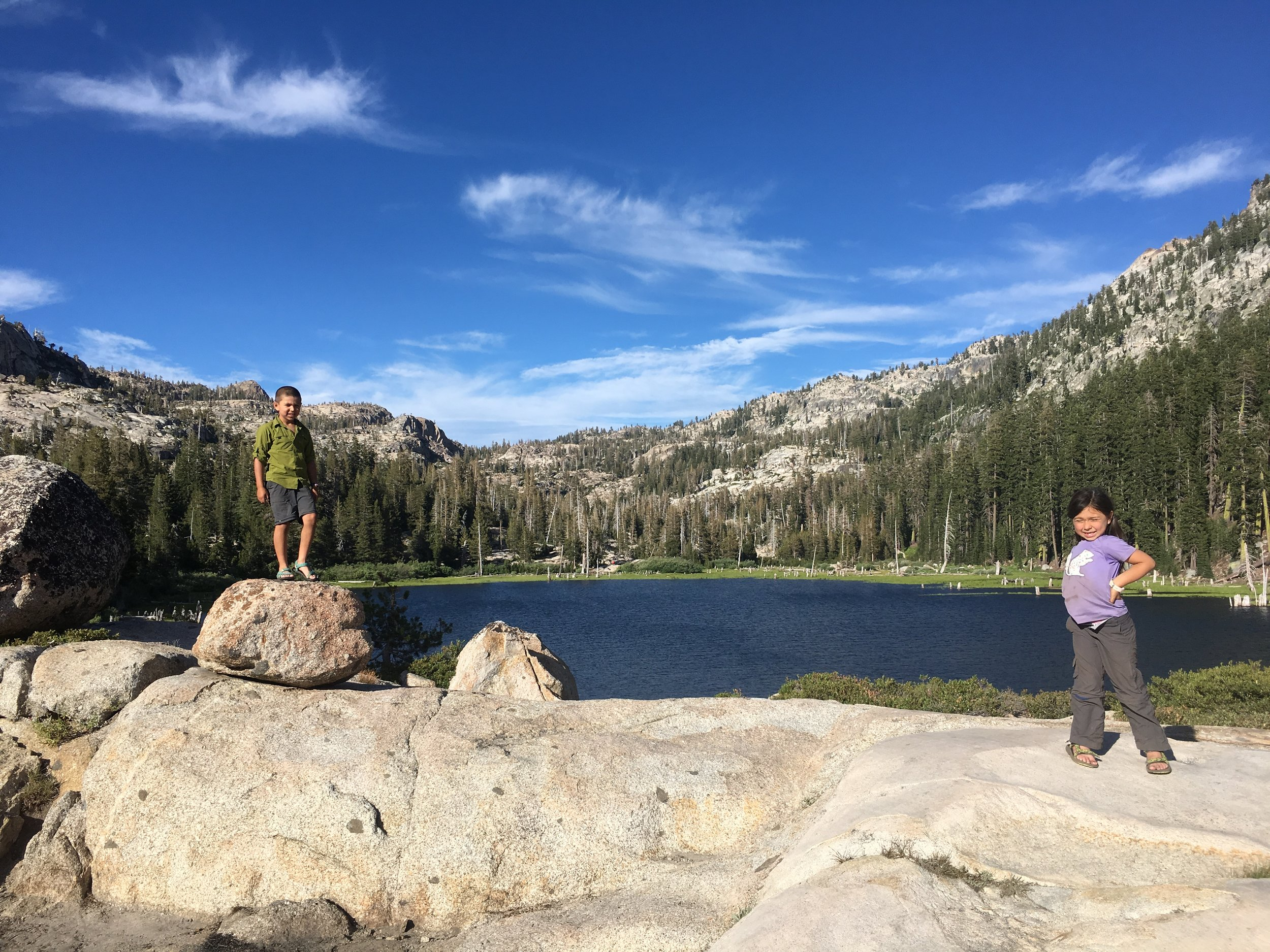 Family Backpacking: Bear Lake in the Emigrant Wilderness
