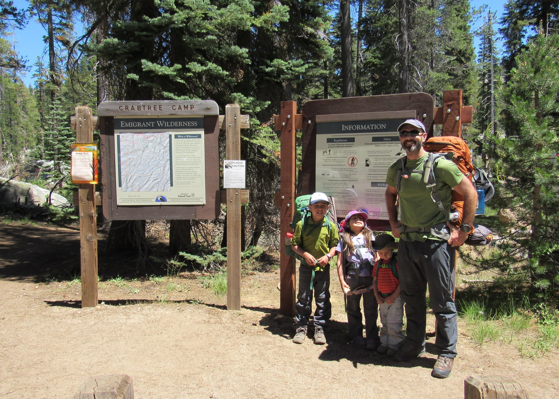Crabtree Camp Trailhead