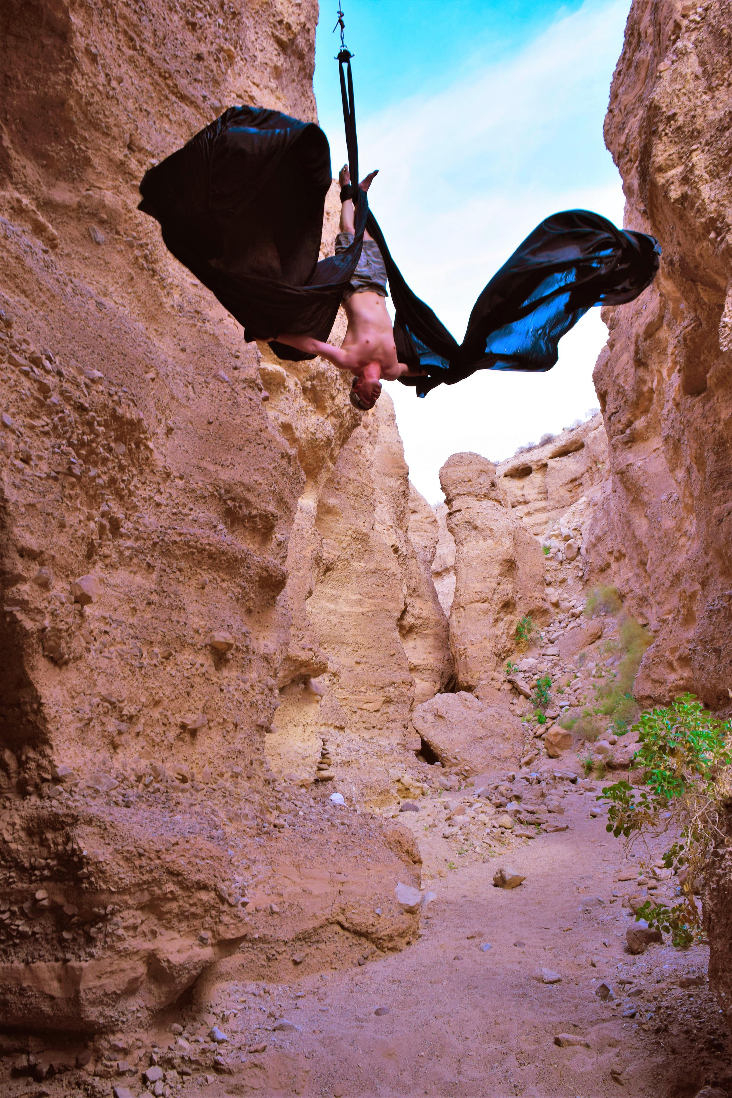 Flying In The Desert Aerial Silks Aaron Wilson