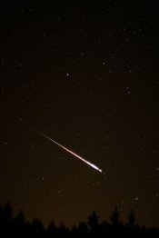"This wasn't ""my"" shooting star, but it's the closest picture I could find that resembled what I saw."