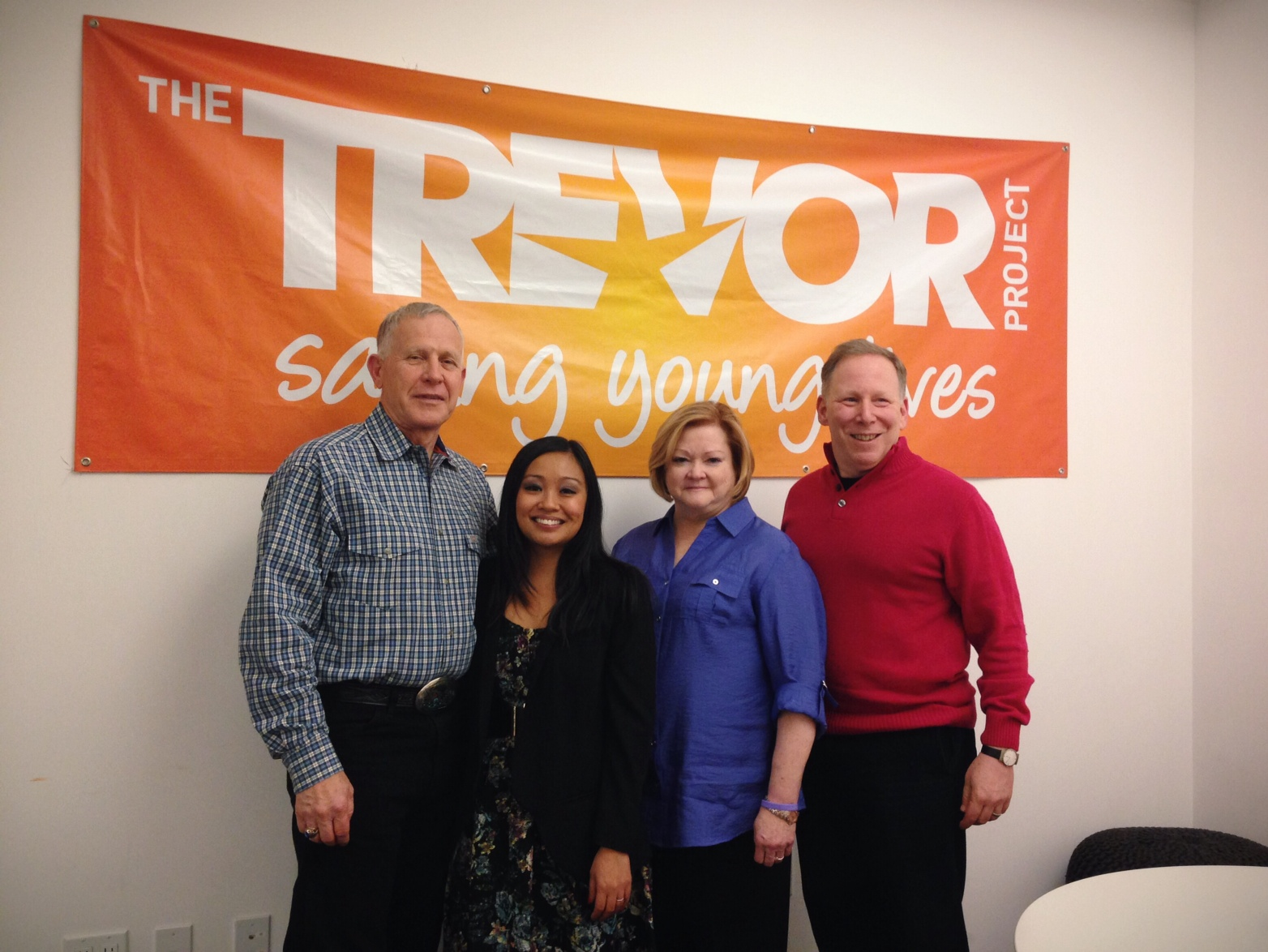 Trevor Project Headquarters with Judy & Dennis Shepard