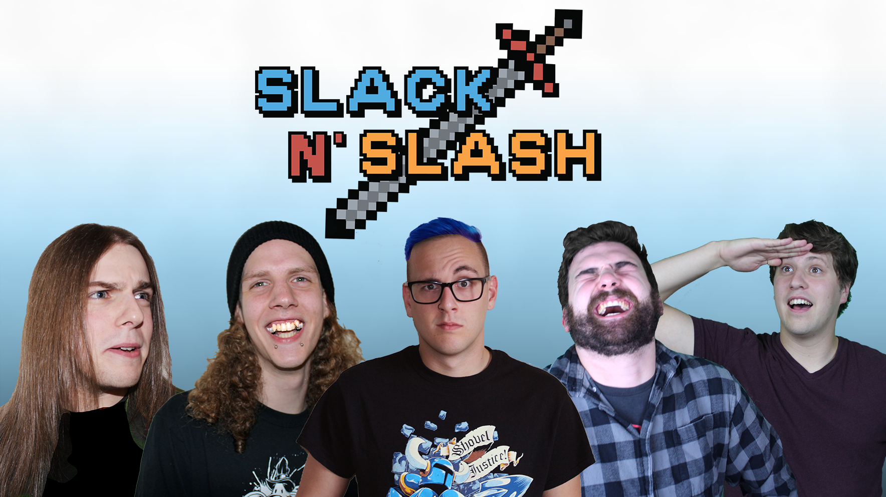 Welcome to Slack N' Slash! We make videos about video games. The whole thing is pretty meta.