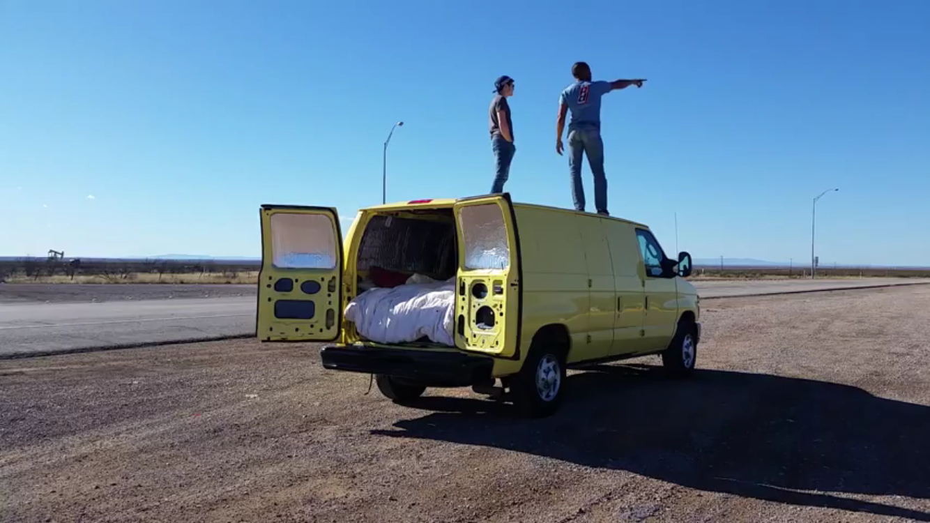 Mario's narcotic's van.