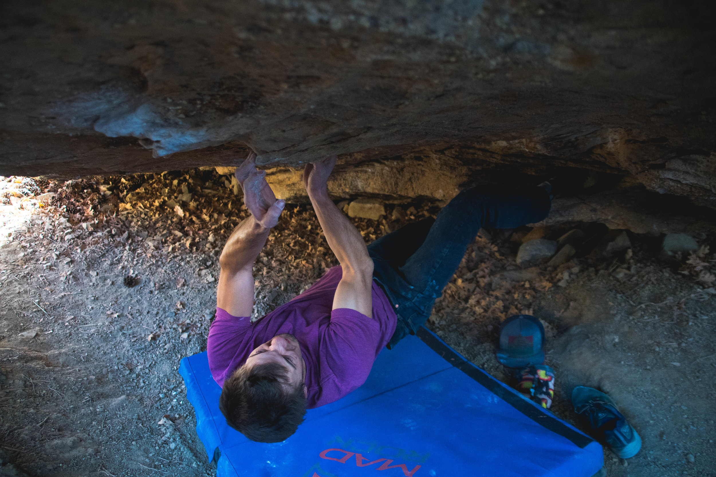 """Eric on """"Meat Head"""" V8"""