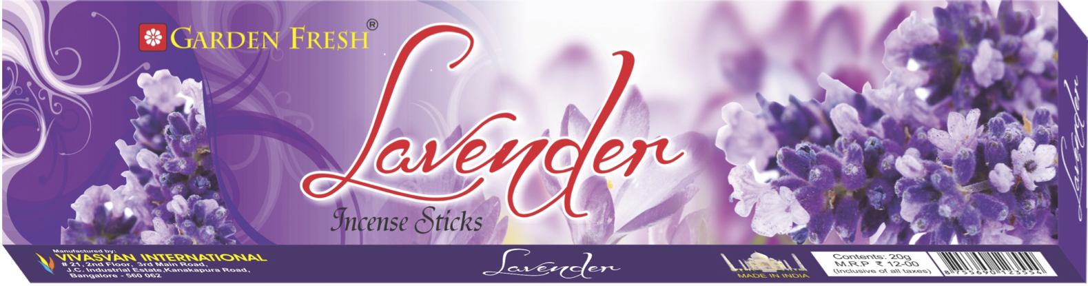 LAVENDER - Lavender has traditionally been used for many benefits. We present to you this soothing fragrance that calms your mind and uplifts your mood.Net weight: 20 grams