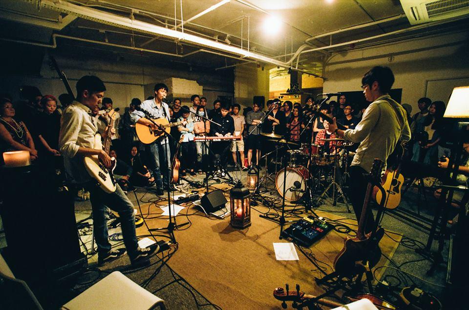 Stranded Whale Concert. Hong Kong. 2015