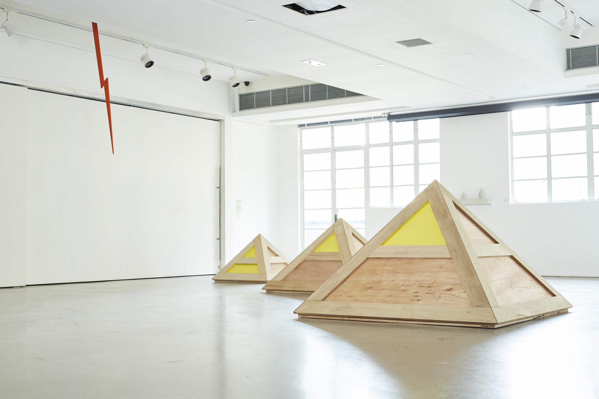 Wong Wai Yin (黃慧妍). 'Without Trying' Exhibition (Spring Workshop). Hong Kong. 2016