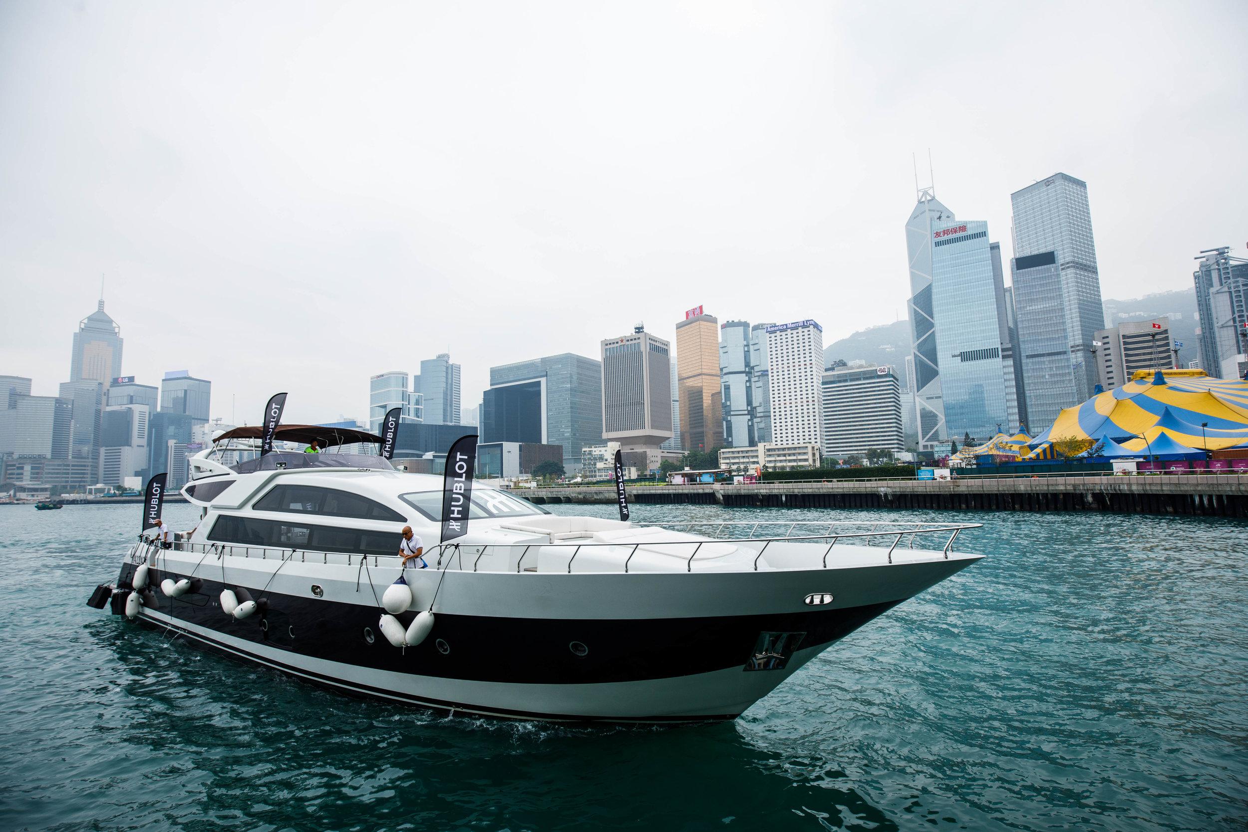 Hublot. Yacht Golf Event. Hong Kong