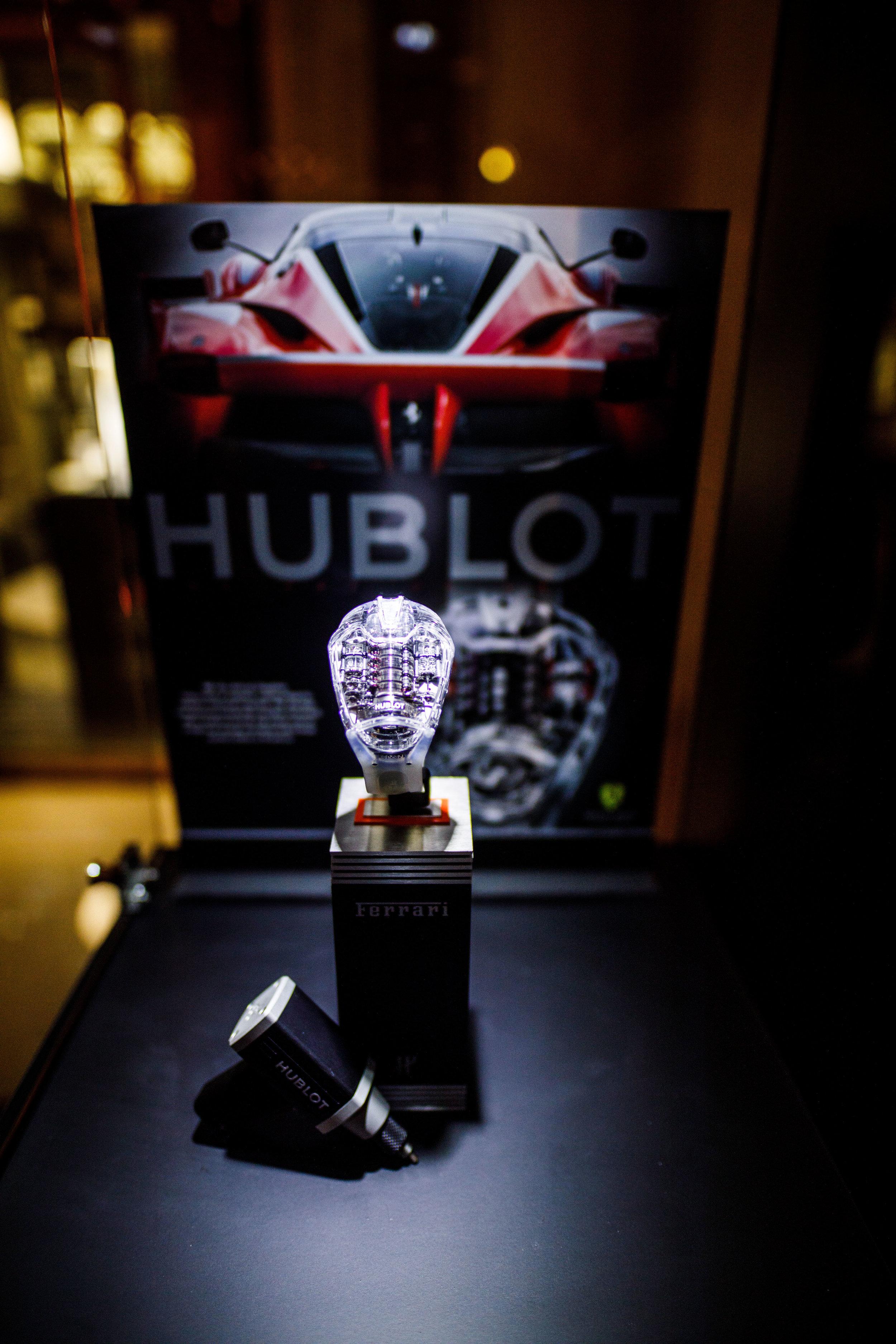 Hublot Ferrari Portofino Event. Hong Kong