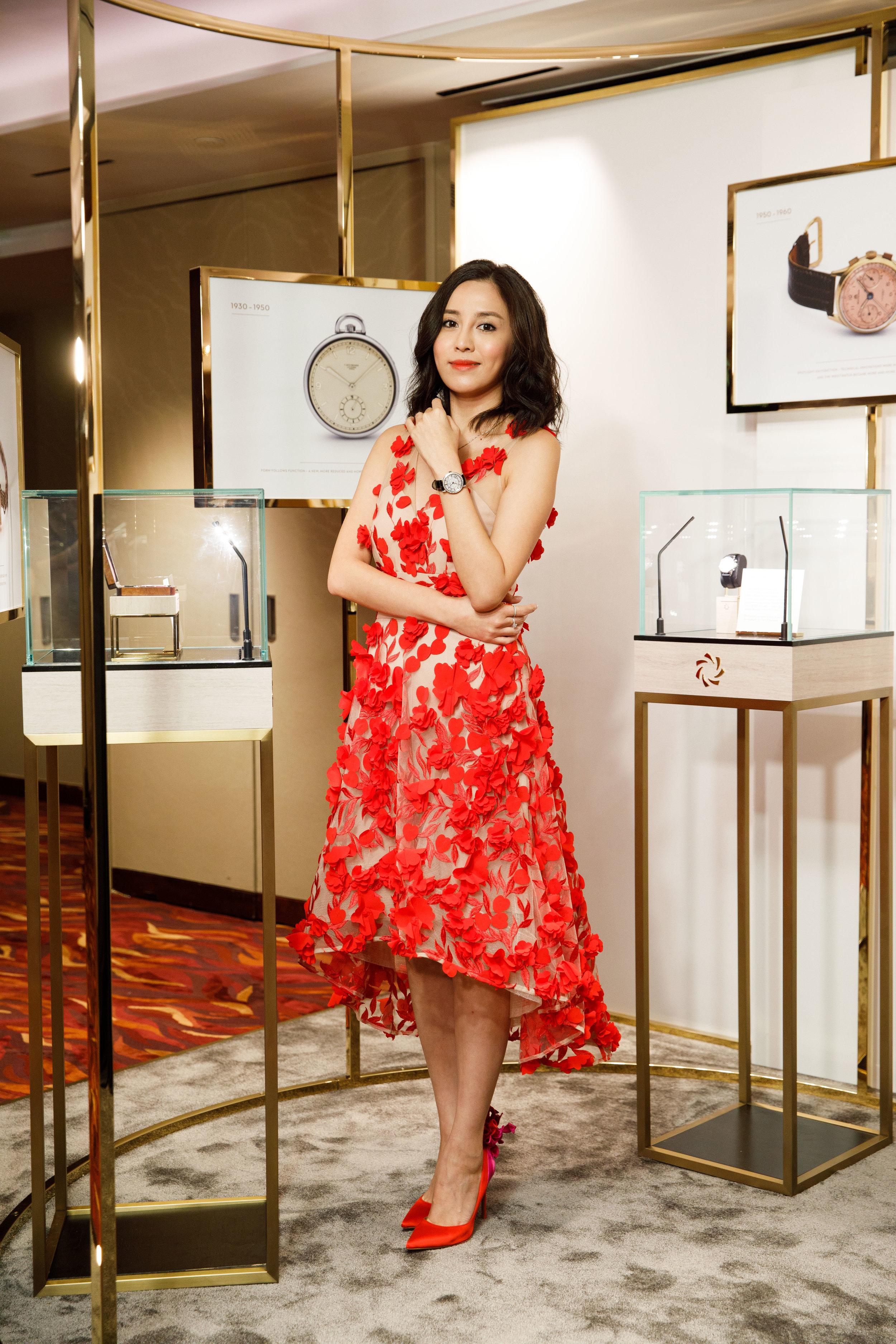 雨僑 Ava Yu. Carl F. Bucherer 'Distinct Moment'. Hong Kong. 2018