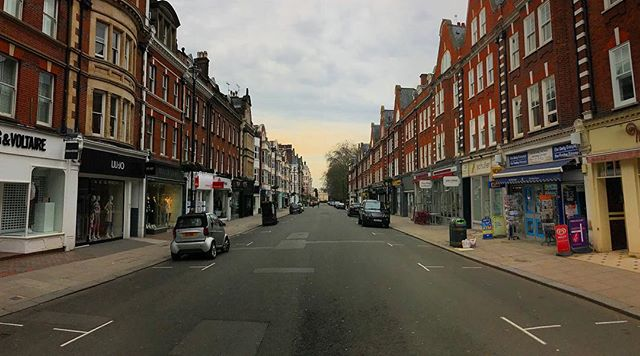 Early morning streets #London #StJohnsWood #panorama #shotoniphone #iphone7plus #iphoneography