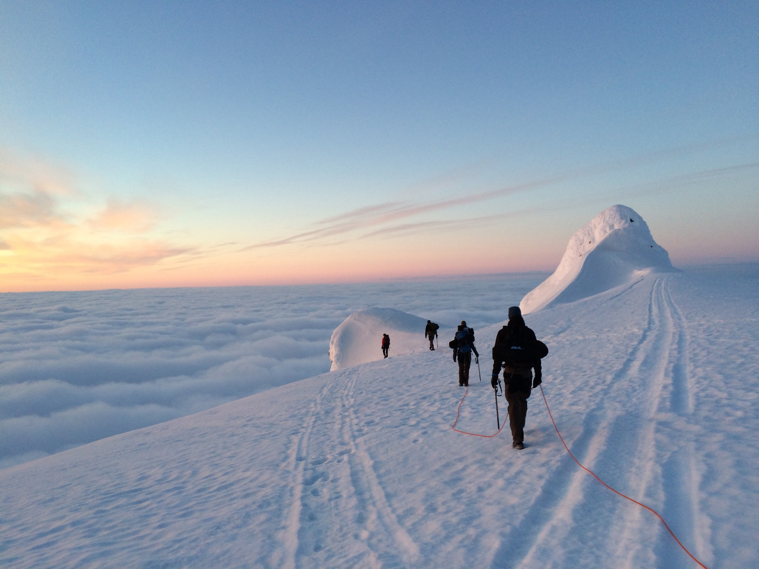 Hiking with Summit Guides