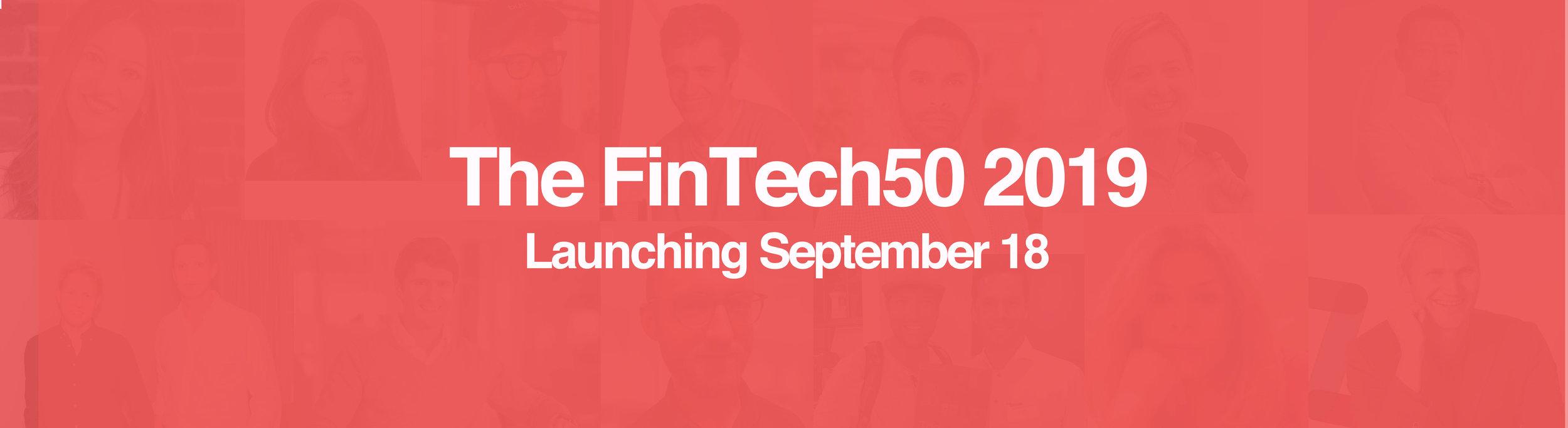 The FinTech 50 | The FinTech50 | The 50 Hottest FinTechs in