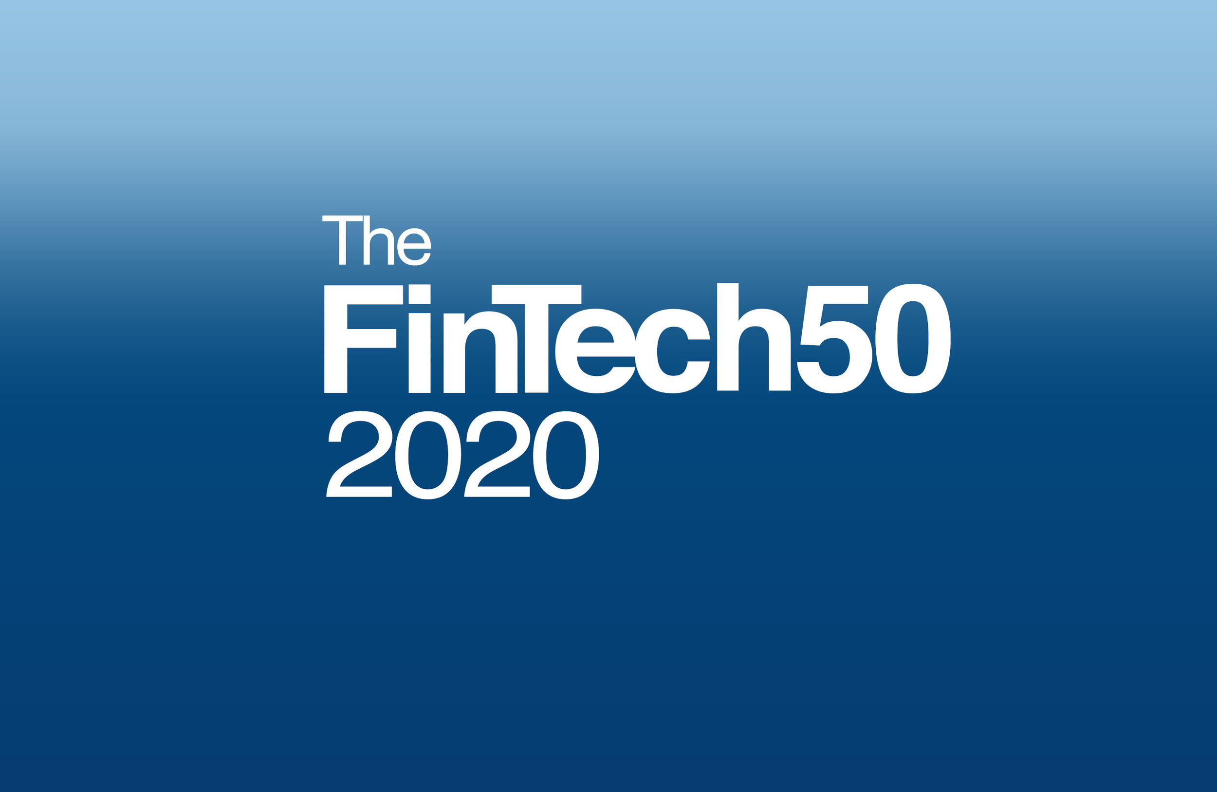 Apply for The FinTech50 2020