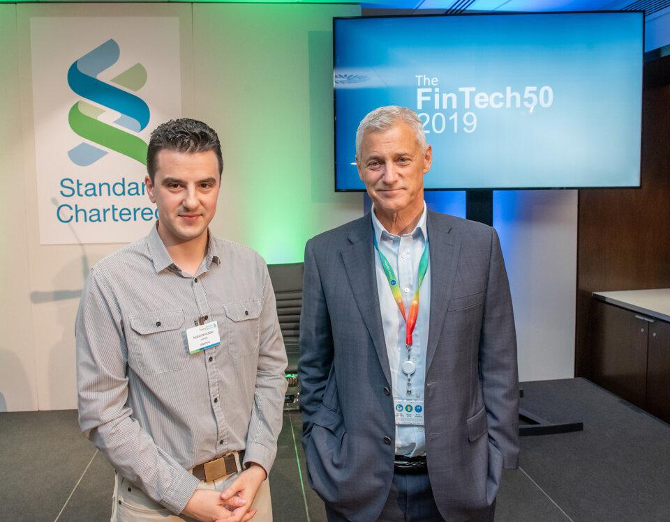 Husayn Kassai, Onfido / Bill Winters, Standard Chartered