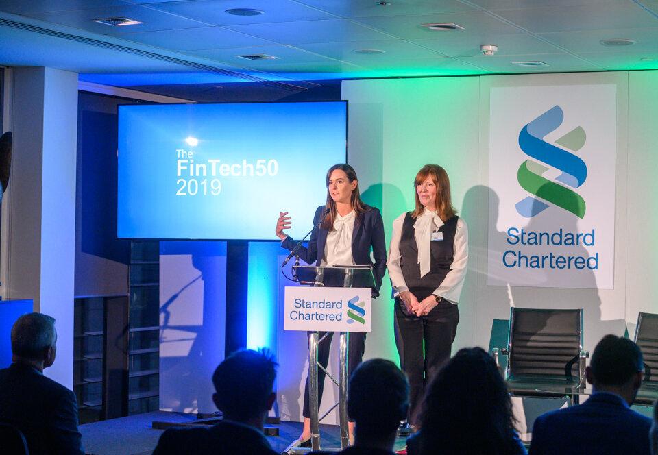 Lucy Demery - Standard Chartered / Julie Lake - The FinTech50