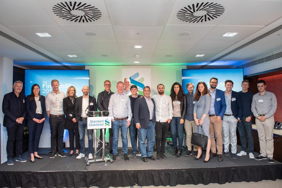 FinTech50 + Hot Ten 2019 founders