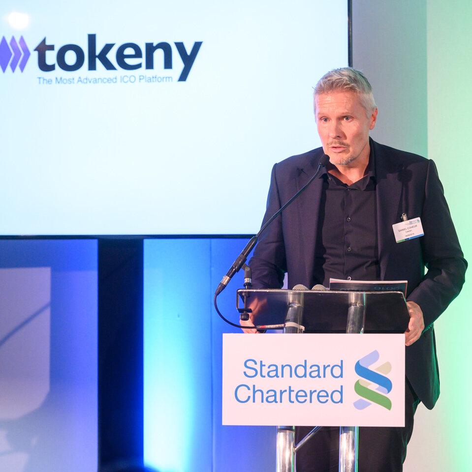 Daniel Coheur, Co-founder - Tokeny