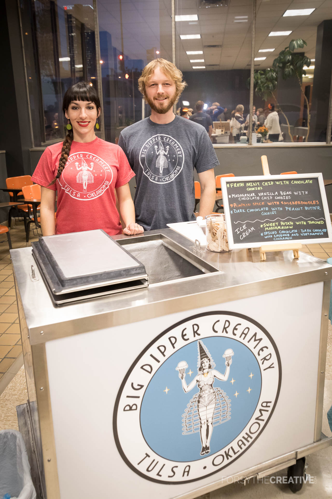 Sami and Brian Cooper of Big Dipper Creamery