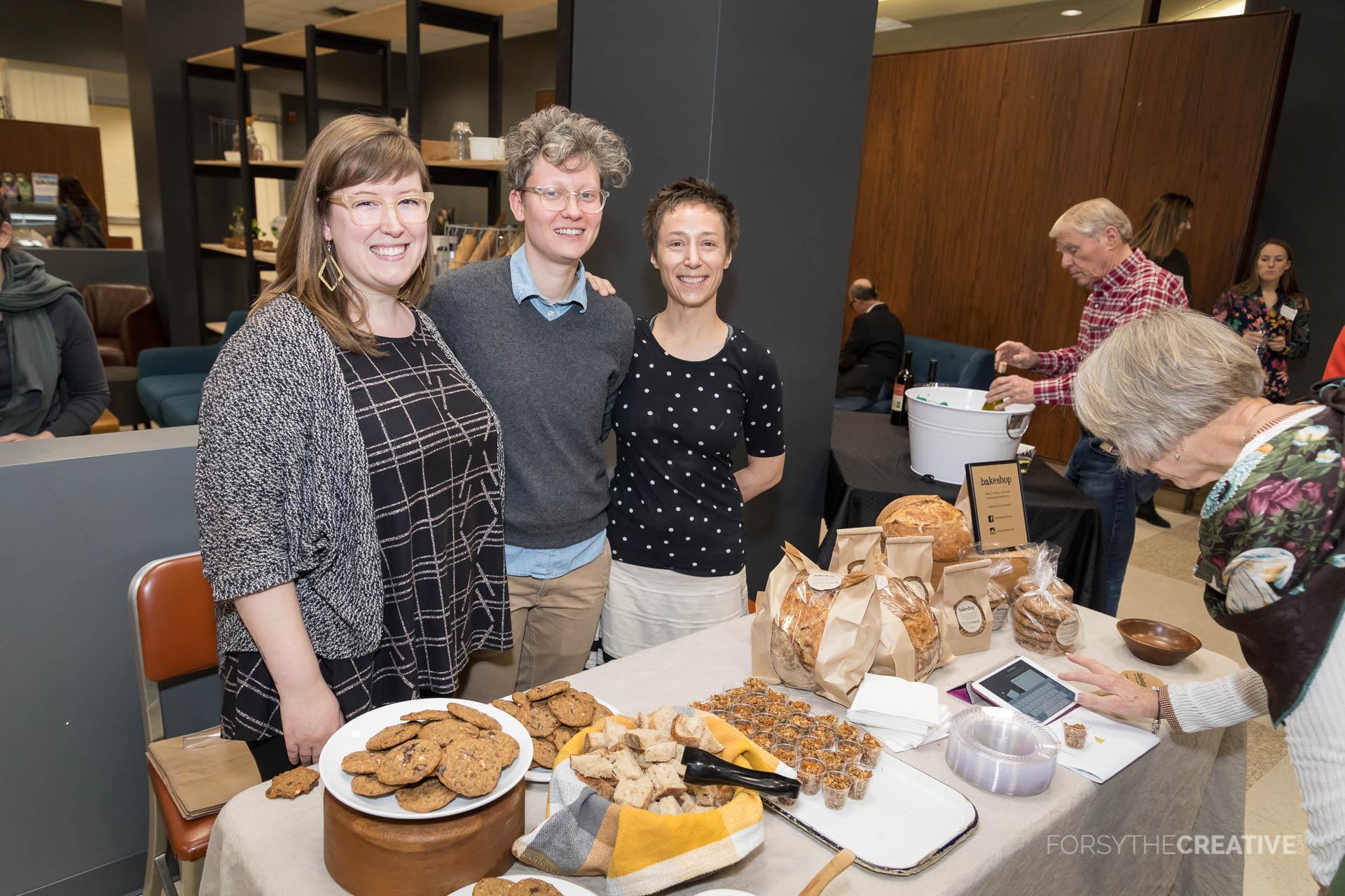 Emily Landry, Emily Price and Morgan Barkley of Bakeshop