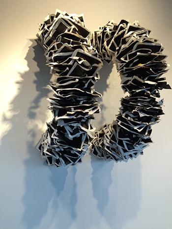 Wendy Wahl: ConTexts Photo Courtesy of UMass Dartmouth Art Gallery