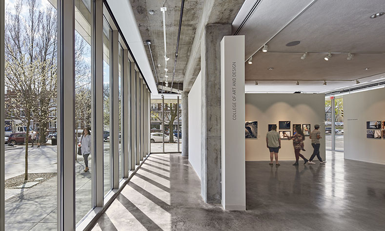 Lesley University College of Art and Design Image courtesy of Bruner/Cott Architects and Planners