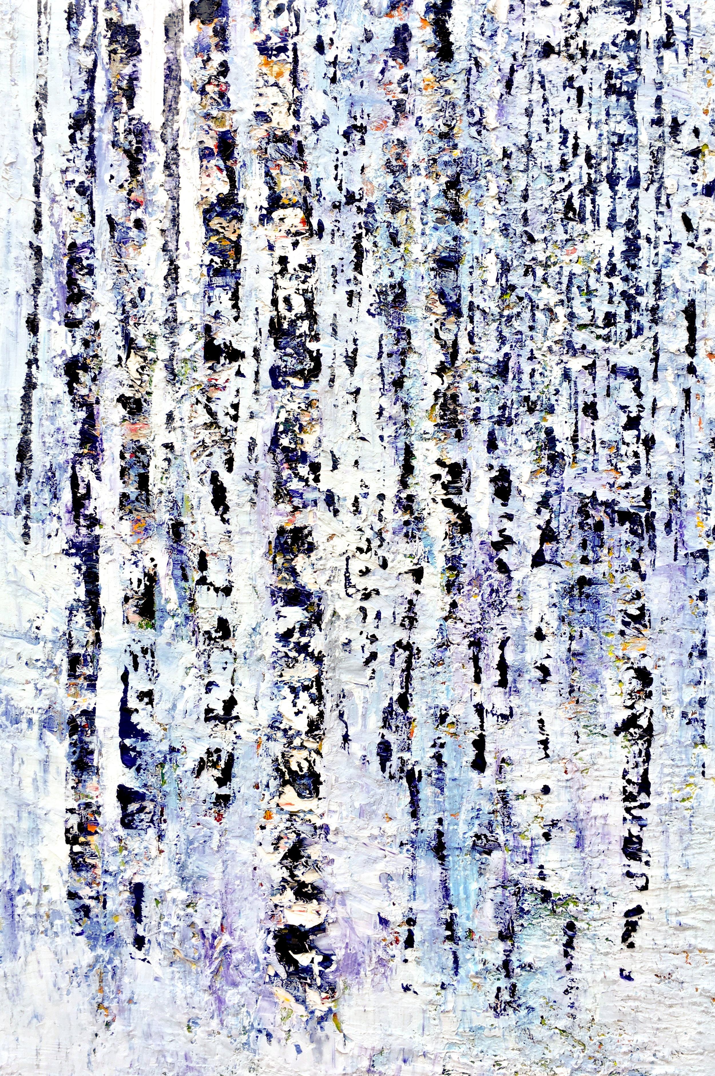 Winter Mountain , 2016 Julia S. Powell  Oil on linen  36 x 24 in.  $4,500
