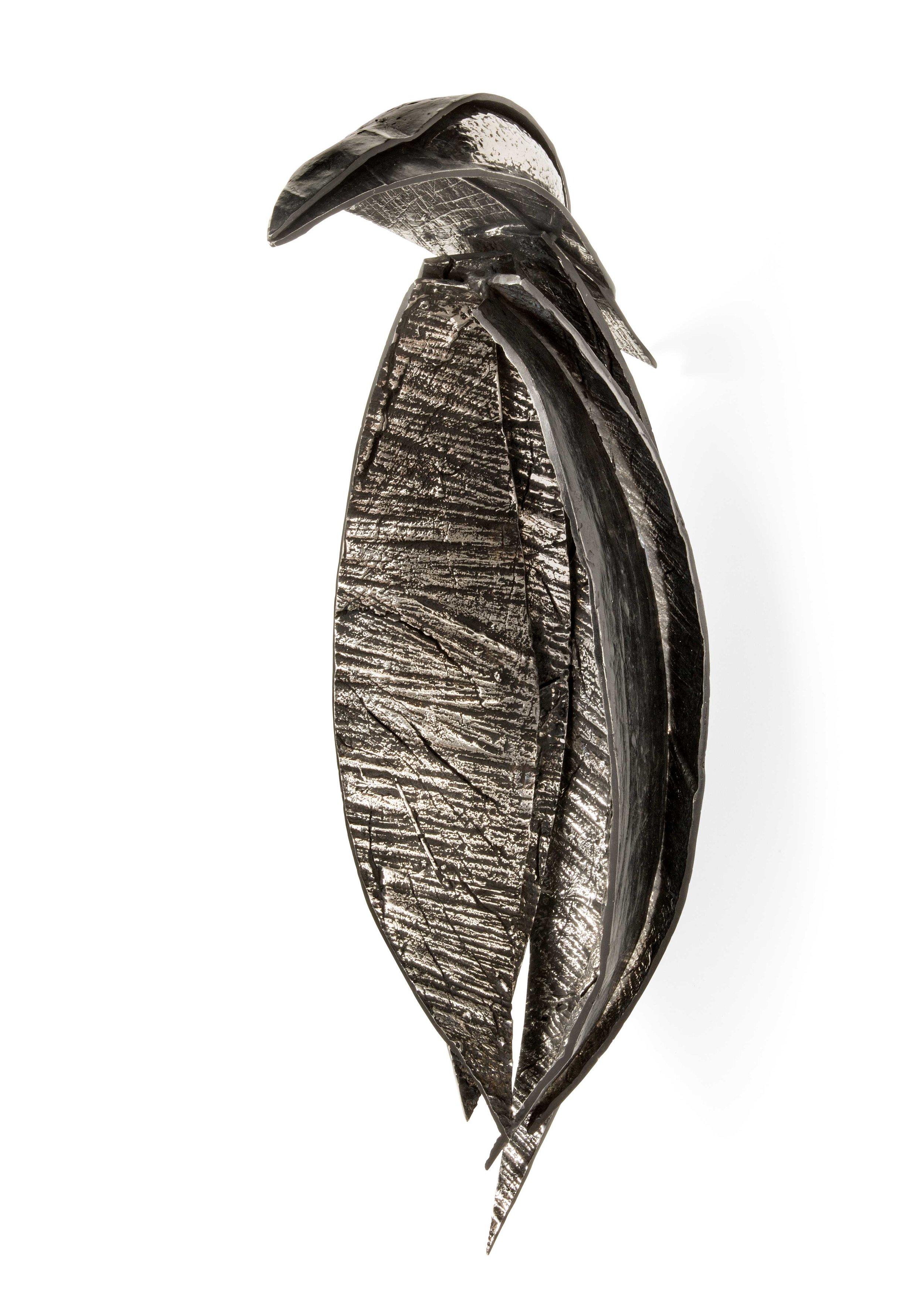 "Katherine Taylor, ""Bird,"" Stainless Steel, 18 x 7 x 10 in."