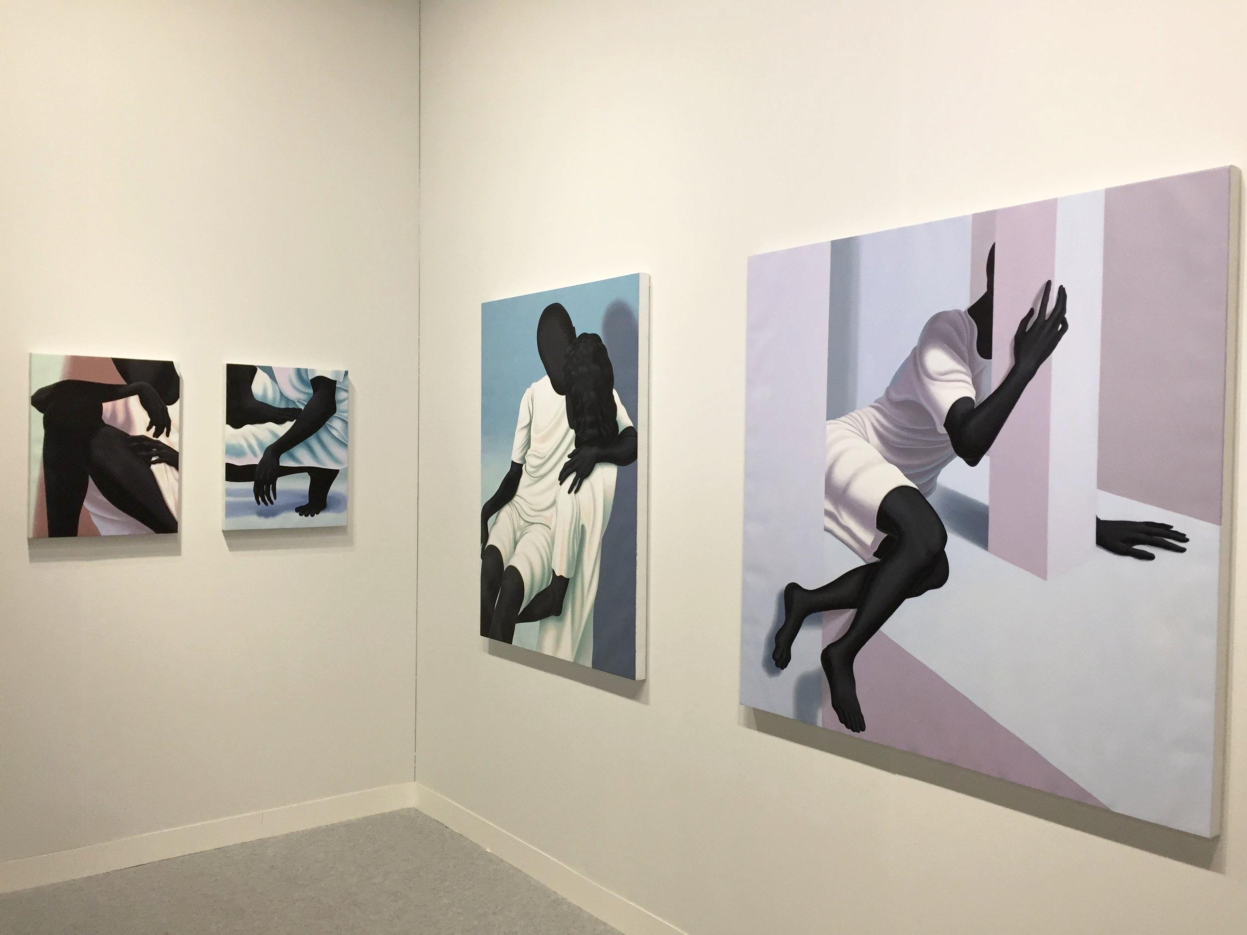 Volta 2017: Alex Gardner paintings at  Taubert Contemporary