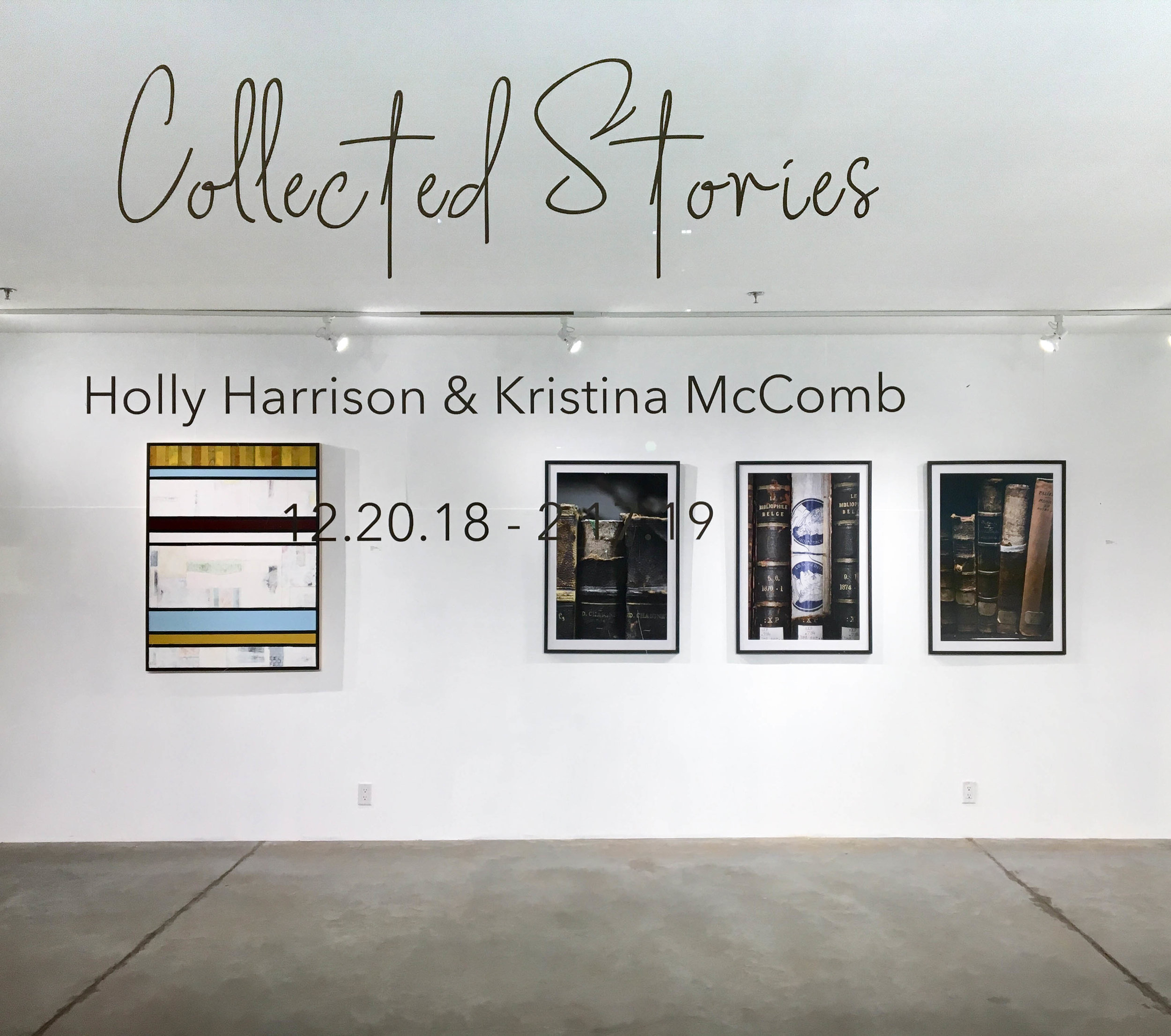 Collected Stories, Holly Harrison & Kristina McComb, Abigail Ogilvy Gallery