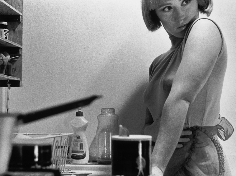 Cindy Sherman ,  Untitled Film Still #3 , gelatin silver print, 1977, Image courtesy of the  ICA Boston .