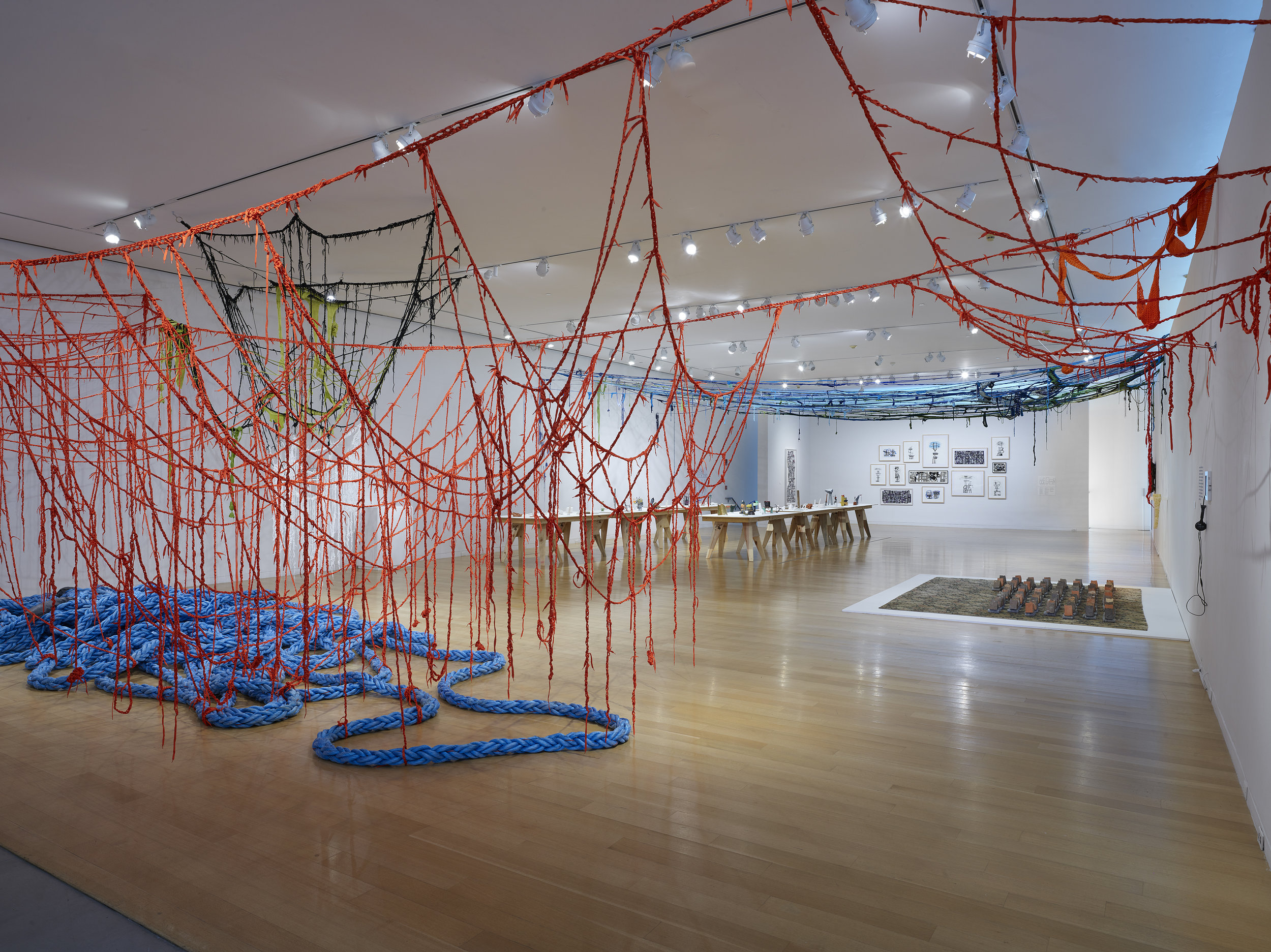 Sheila Pepe: Hot Mess Formalism. Image courtesy of  deCordova Sculpture Park and Museum .