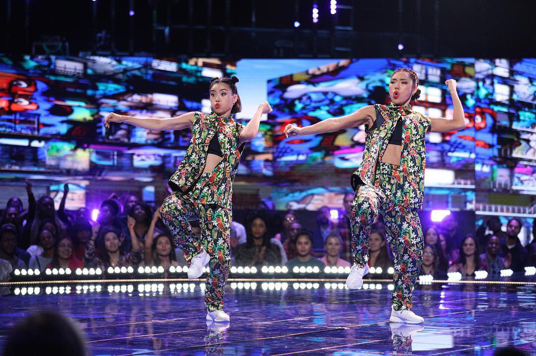 All Ready perform on NBC World of Dance, photo courtesy of NBC's World of Dance