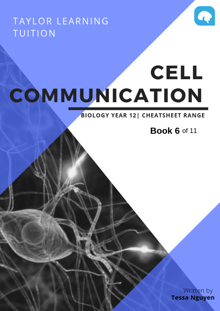 Comprehensive Biology Notes- Cell Communication — Taylor Learning I  Melbourne Tutoring I Free VCE notes I Exams revision, Preparation Online