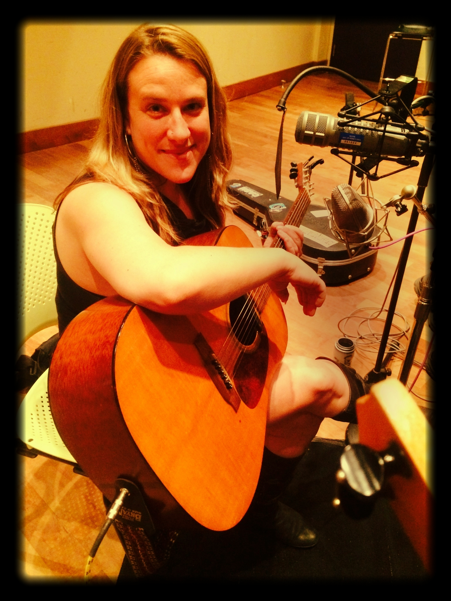 Live on the Folk Show at the WXPN Studios