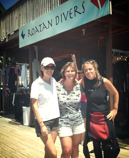 Roatan Divers Regan PADI Open Water Diver