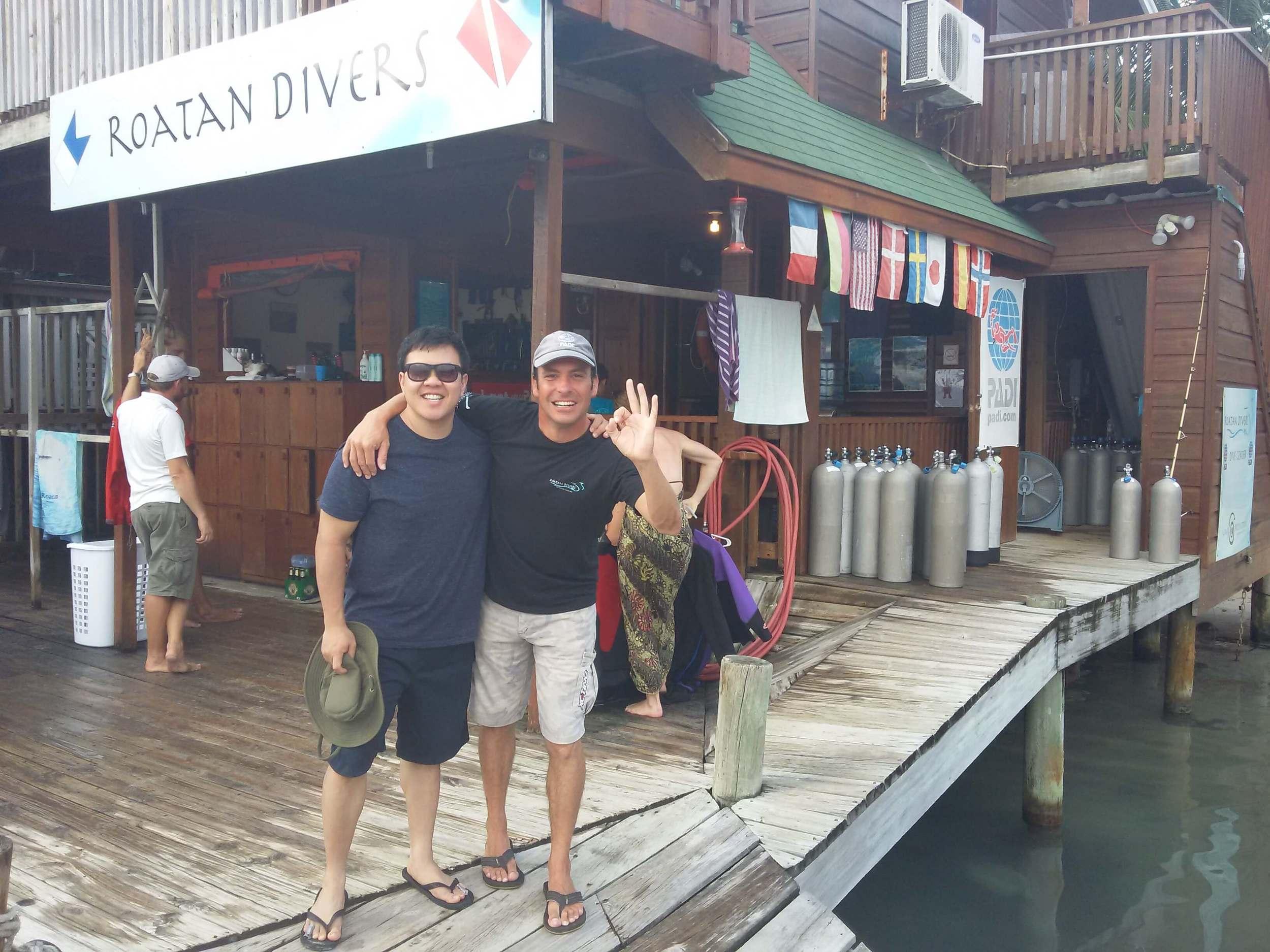 Roatan Divers PADI Open Water Diver