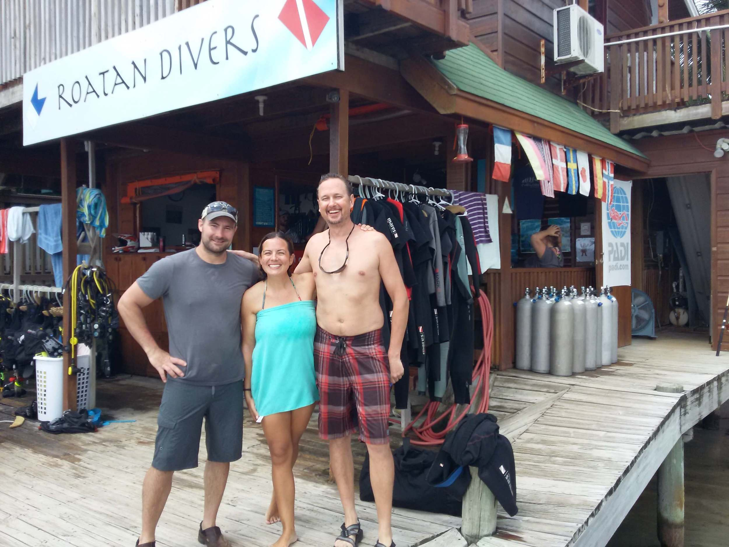 PADI Discover Scuba Diving Roatan
