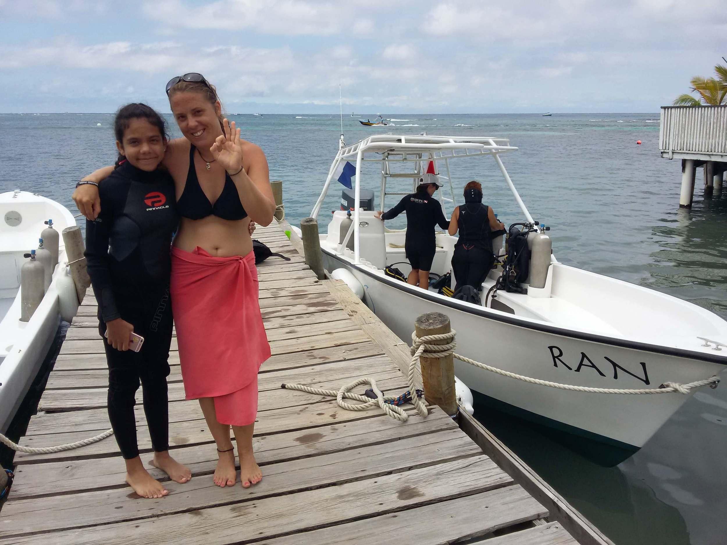PADI Junior Open Water Diver course Roatan Divers