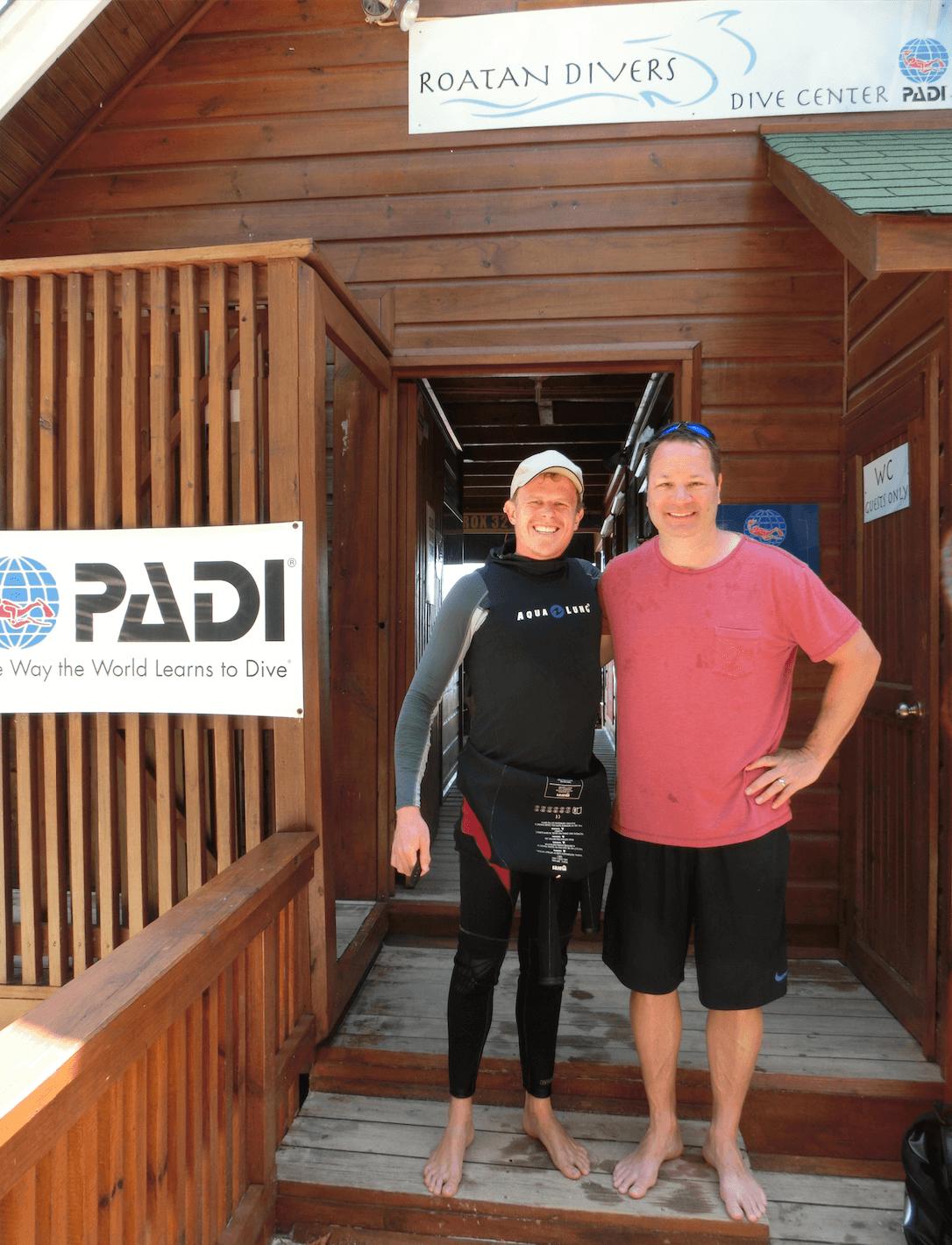 Mike Open Water Diver Roatan Divers