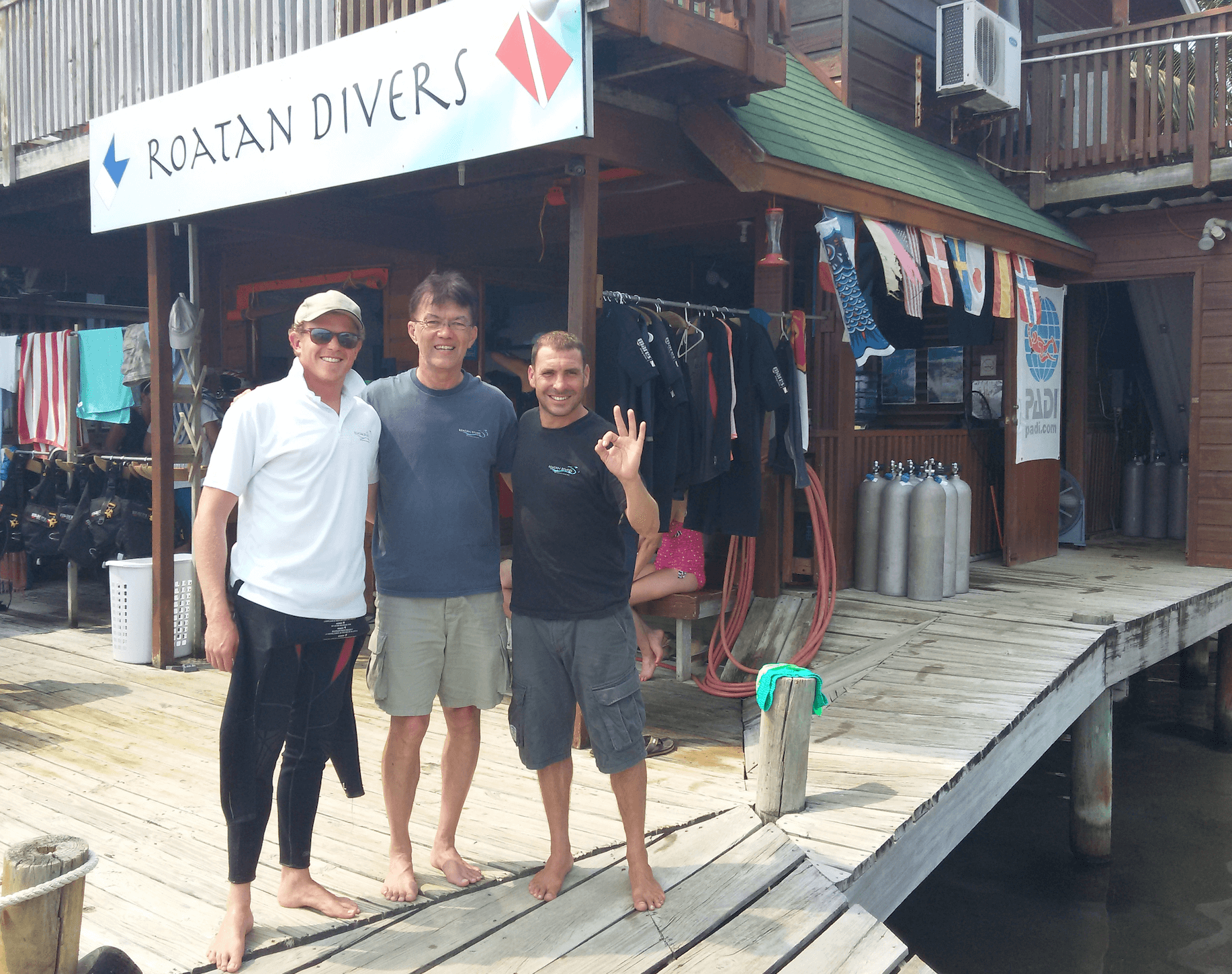 Jim PADI Advanced Open Water Diver Roatan