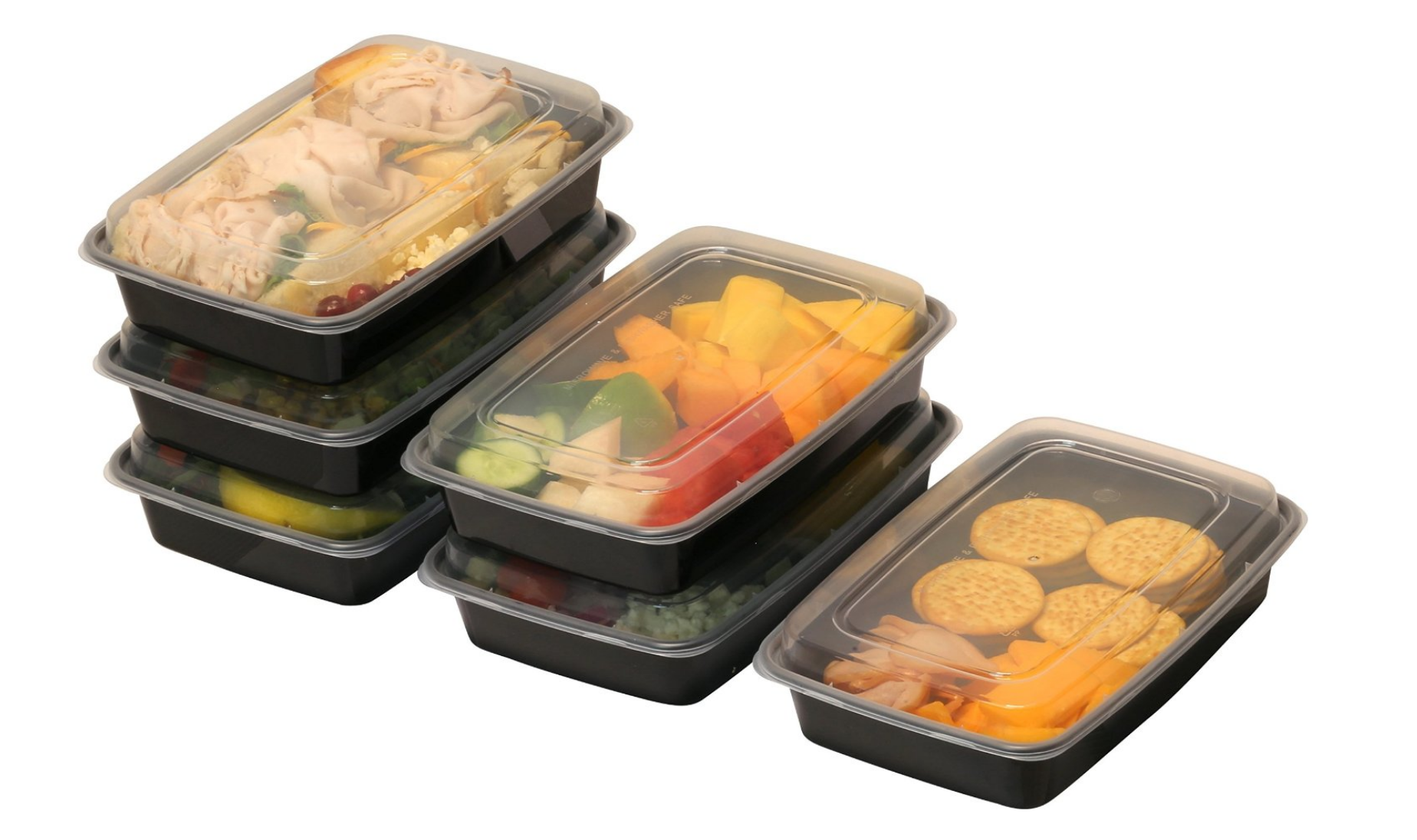 We're looking into the 28 to 32 oz range for optimal food storage! [boxes by Simple Houseware]
