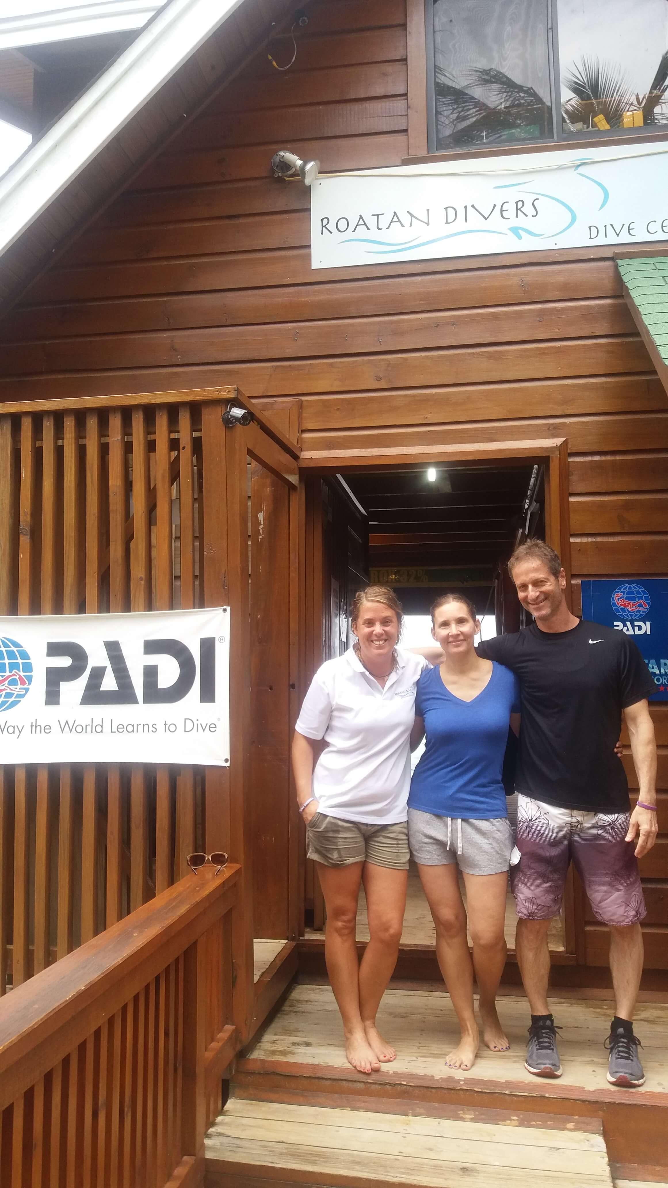 PADI Advanced Open Water Diver course Roatan