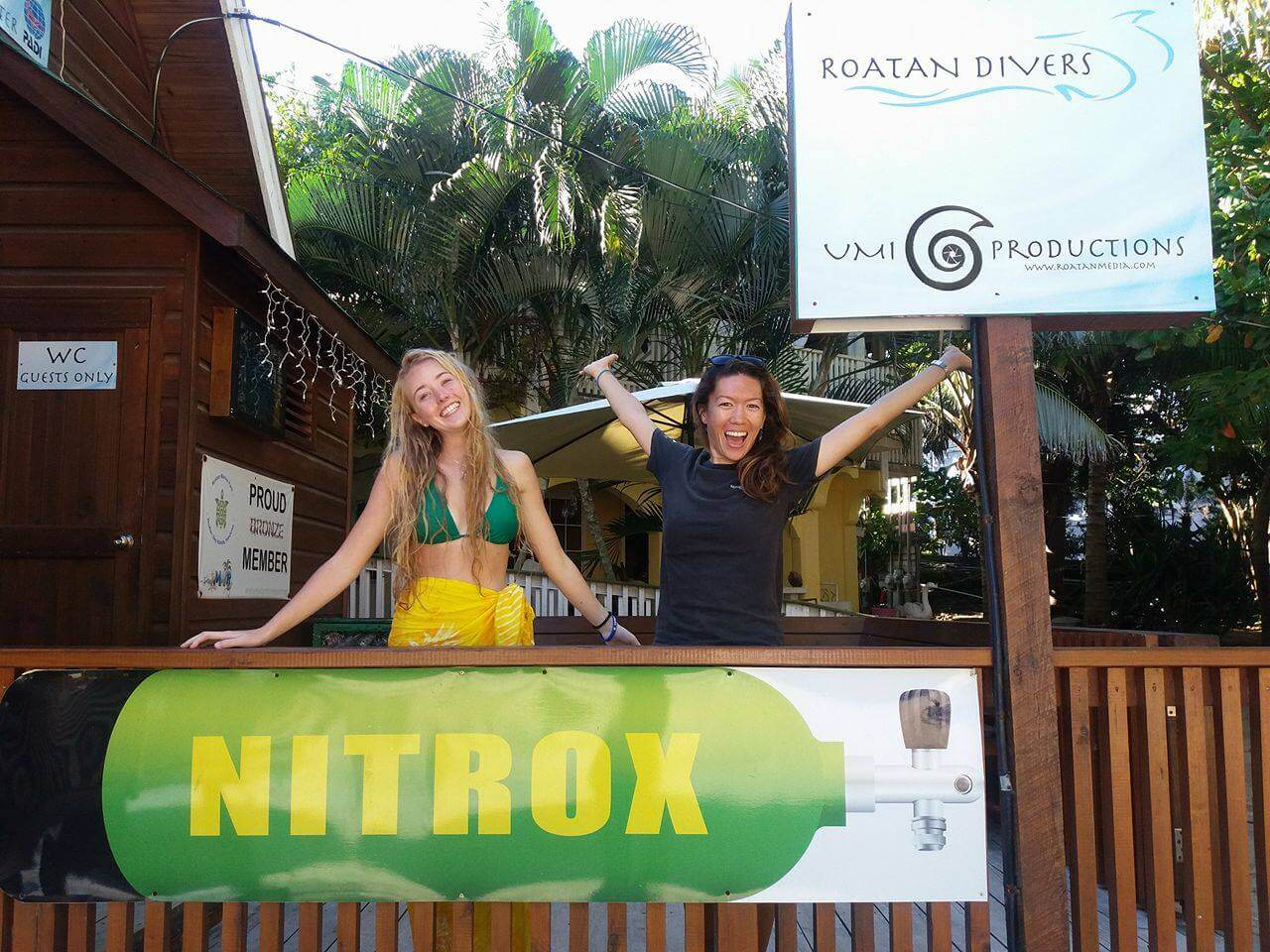 Roatan Nitrox Enriched air course
