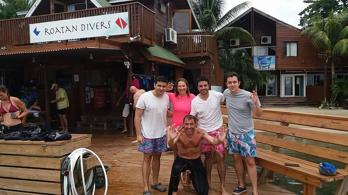 Spanish Open water diver referral roatan